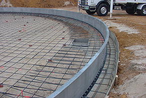 Concrete Work - ASI Tank