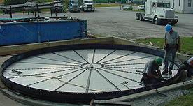 Roof-Floor Install - ASI Tank
