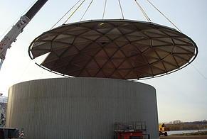 Roof/Floor Install - ASI Tank